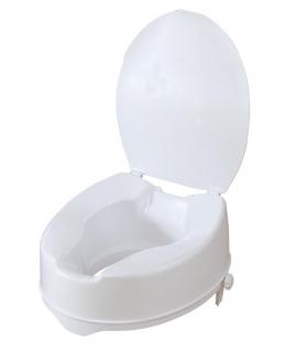 Ανυψωτικό κάθισμα τουαλέτας 15cm με καπάκι