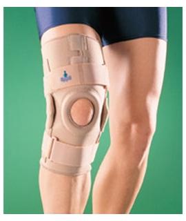 Σταθεροποιητής γόνατος με ειδικό μηχανισμό